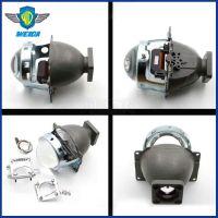 Q5方座双光透镜 D1 D2 圆形方座 HID氙气灯大灯改装 广州威达 汽车hid双光