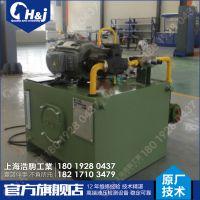 上海液压工作站木线条生产线液压系统维修保养