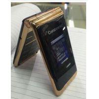 电信老人手机 厂家直销双屏翻盖电信手机 大声音大屏大字CDMA