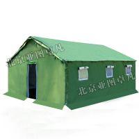 北京用民用养蜂工地施工帐篷一居室迷彩绿色保暖防风防水防晒三层账防寒防火
