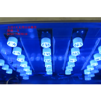 LED紫外线UV固化箱 84W 395NM手机屏维修固化灯箱 UV胶水油墨烤箱