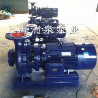 直销 ISW 80-160IB 卧式圆林喷灌管道泵 卧式增压管道泵