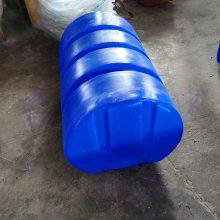 君益滚塑浮筒直径700报价 PU发泡填充浮筒高1200mm