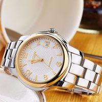 鑫柏琴厂家直销logo定制石英新款***防水休闲 不锈钢手表外贸手表