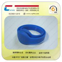 【创新佳】NTAG 213芯片硅胶防水手腕带,消费积分NFC硅胶腕带厂家直销