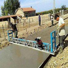 九州厂家定做带框架式的全自动三辊水泥混凝土摊铺平整机