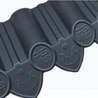 供应移动小房仿古瓦 大连凡美氟塑树脂彩瓦 环保设备公司 配套产品