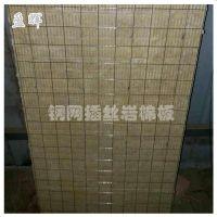 盈辉热销保温制品钢网岩棉插丝板