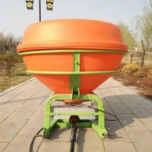 人气推荐玉米地化肥抛撒机农用大型施肥器750KG后置扬肥机