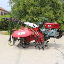 热卖手推小型旋耕锄地机 大棚菜地除草松土机 一机多用小型微耕机