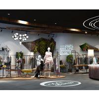 东莞购物空间设计 东莞服装店购物空间设计公司 东莞服装店购物空间设计案例