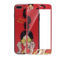 依维嘉苹果iphone手机壳加工 彩绘浮雕手机保护套