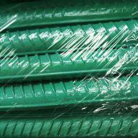 供应陕西西安工程环氧树脂涂层螺纹钢筋 HRB400E防腐蚀涂层钢筋