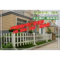 安徽 六安PCV草坪护栏 绿化护栏 塑钢护栏 花坛护栏