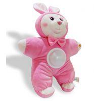 声光安抚玩偶小兔子音乐助眠益智婴幼儿童毛绒玩具短毛绒制作
