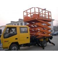 浙江车载式行走升降机 8米0.5吨可移动剪叉式 升举高空作业设备
