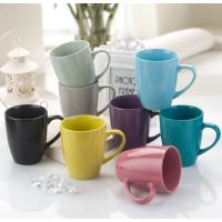 创意色釉马克杯 可爱复古陶瓷杯套装 个性牛奶杯咖啡杯定制批发 无锡广告杯定制 夏季水杯
