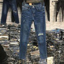 特价牛仔裤批发厂家直销批发商女装牛仔裤弹力洗水棉高腰牛仔裤