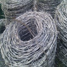 铁蒺藜刺绳 新疆刺绳 刀片护网安装