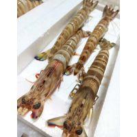 竹节虾/斑节虾/九节虾/野生海捕/2条-10条每盒/好这味品牌