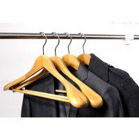 大衣西装衣架晾衣架实木衣架木质挂衣架无痕衣服架复古宽肩木头衣撑男装西服架