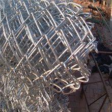 勾花网 包塑菱形网 涂塑金属钩编网