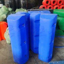 厂家报价水上拦污浮排 高度210mm塑料拦污浮珊直销