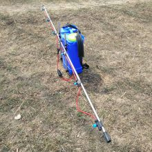 热销旭阳蓄电池打药机 蔬菜玉米杀虫打药机 3.6米喷幅背负式电动喷雾器
