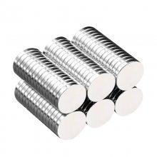 金聚进 ***产品供应8*2 6*1 12*2 15*1镀锌N35磁铁现货 钕铁硼强磁