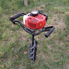志成多功能便携式植树挖坑机手提式挖坑机图片 螺旋打孔机