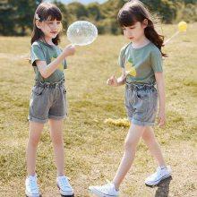 潮童短袖2018欧美头像印花儿童短袖男童女童全棉t恤宝宝短袖衫