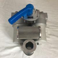 河南艾铂锐供应双筒管路过滤器 SDFLND型液压设备 高效精密回油过滤器