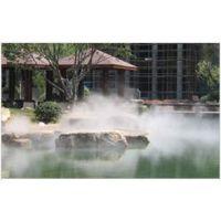 西安造景造雾古镇公园景区人造雾凯普威景观喷雾