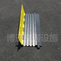 橡胶穿线线槽带 演出布线保护板 道路过桥板