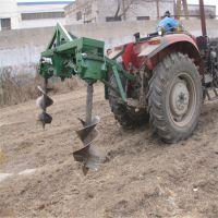 拖拉机式建设植树造林挖坑机 车载挖窝机 围栏大型打桩机钻眼机