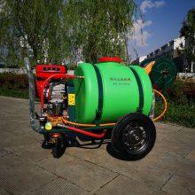 公共场所灭菌喷药器 手推式高压远程打药机 果园喷药杀虫机推车式