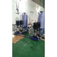 广西柳州生活供水设备WQWG 接不锈钢水箱二次加压恒压变频供水设备