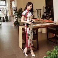 杭州塞拉服饰新到高大尚17新款旗袍女装欧诺斯蒂免费不收费