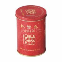 香烟铁罐定制 马口铁焊接罐 铝质易撕拉盖型