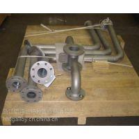 浙江2205双相钢管件90°三通S31803异径三通现货