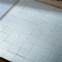 厂家供应92% 95%氧化铝含量磁选机马赛克陶瓷片(规格10*10*1.5)