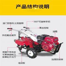 小型柴油微耕机 微耕机大全 自走式旋耕松土机 润华机械