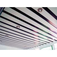 R型扣板天花吊顶,广告装饰专用R84铝条扣