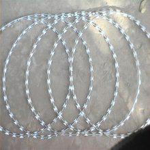 焊接刀片刺网 刀片刺网价格 监狱刺丝滚笼