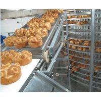 面包螺旋冷却塔螺旋冷却输送带