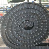 卓远厂家生产螺丝螺母输送链板 双节距滚子输送链 成本低效率高