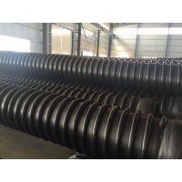 湖北厂家直销供应HDPE缠绕增强管(B型)克拉管采购