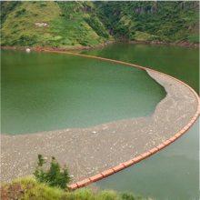 攀枝花水电厂拦污漂排 60cm左右拦污浮筒 工程塑料拦污浮体