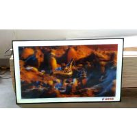 厂家定制加工3D立体灯箱 立体广告灯箱画 广告海报灯箱画 超薄灯箱