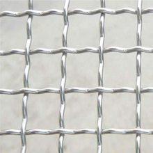 镀锌轧花网现货 轧花网与矿筛网 安全编织网